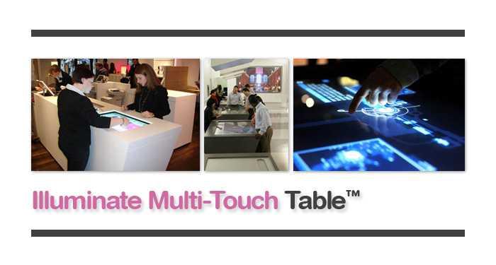 mesa multi-toque