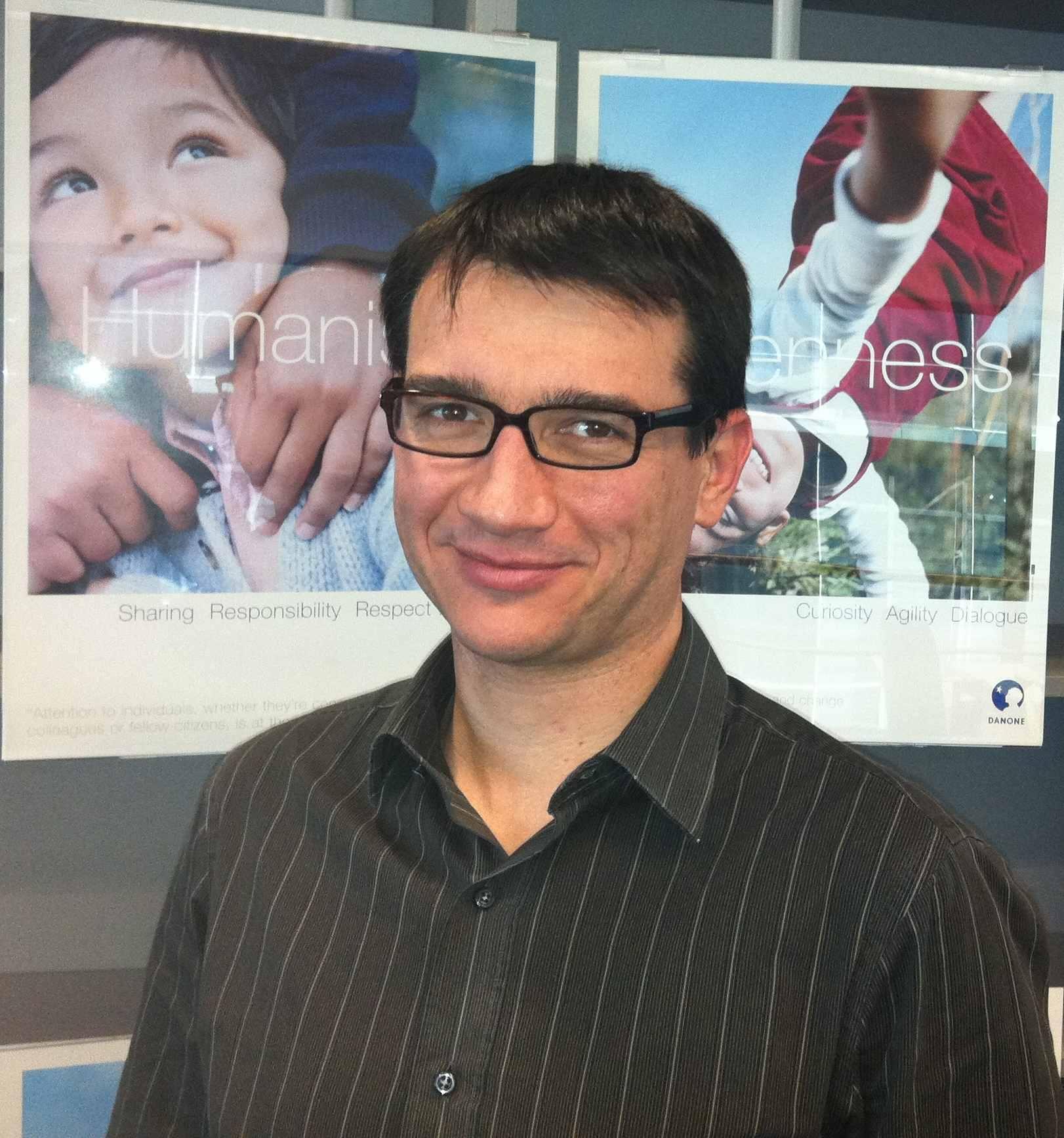 Cyrille Auguste, Director de Marketing Danone Portugal