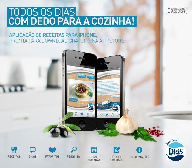 App bacalhau dias