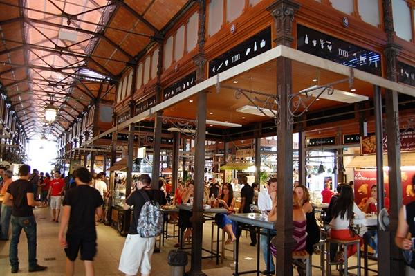 Mercado de São Miguel, no coração de Madrid