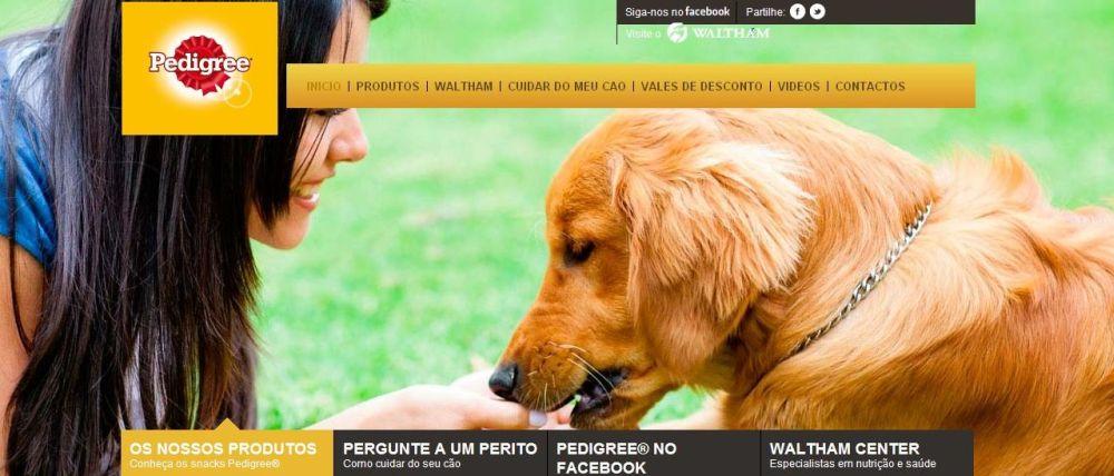 site snackspedigree.pt