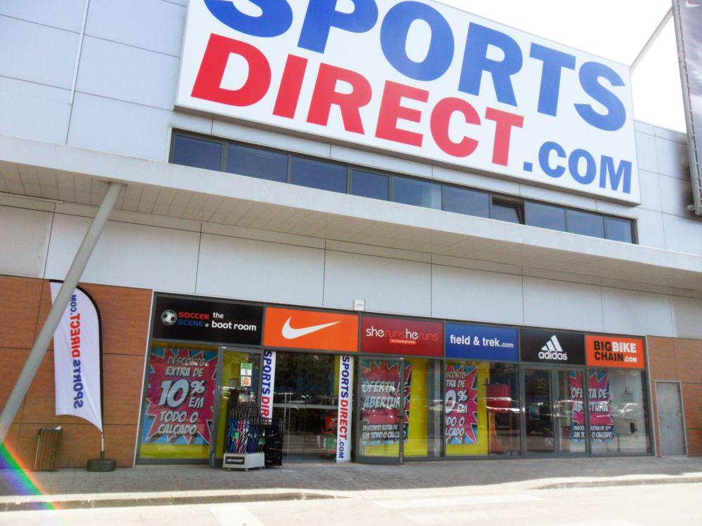 10f370ef48 Sports Direct vai abrir mais 3 lojas em Lisboa