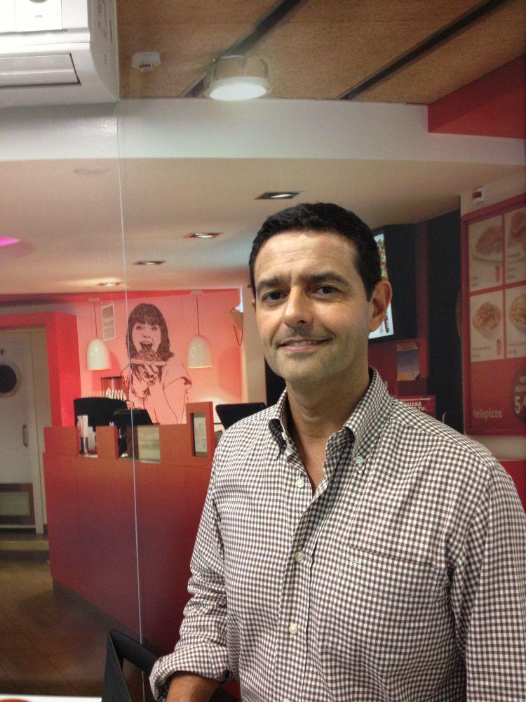 João André, director de marketing da Telepizza