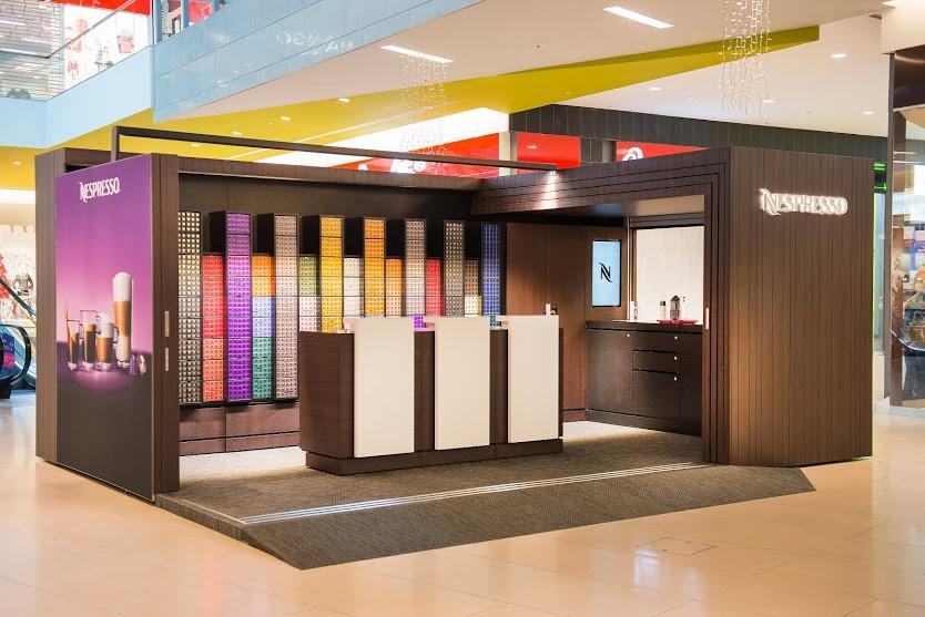 """Nespresso escolhe shopping para inaugurar 14ª. """"Boutique Pop Up"""". A  Nespresso inaugurou uma loja temporária ... bc9f879bb1"""