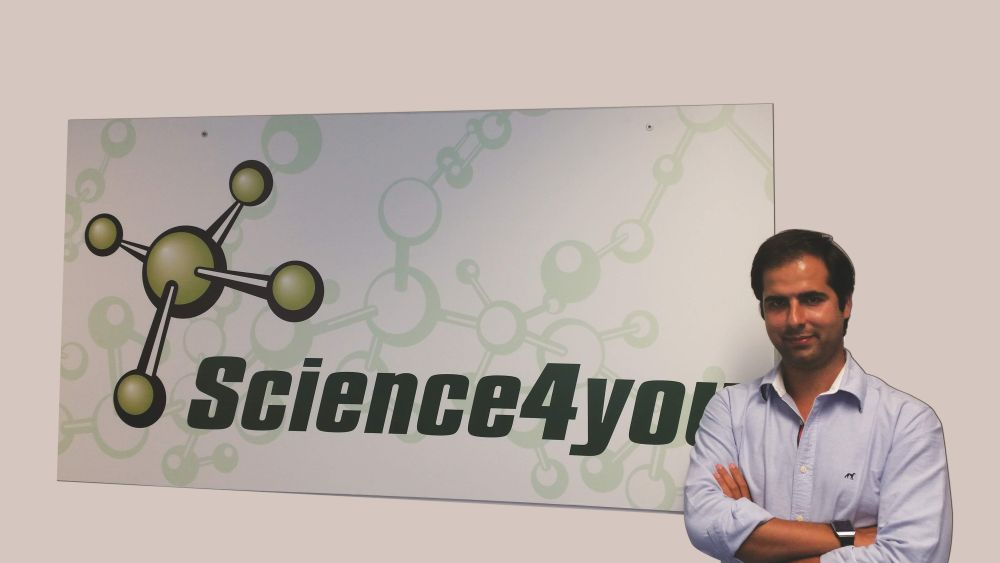 Miguel Pina Martins, CEO da Science 4 You
