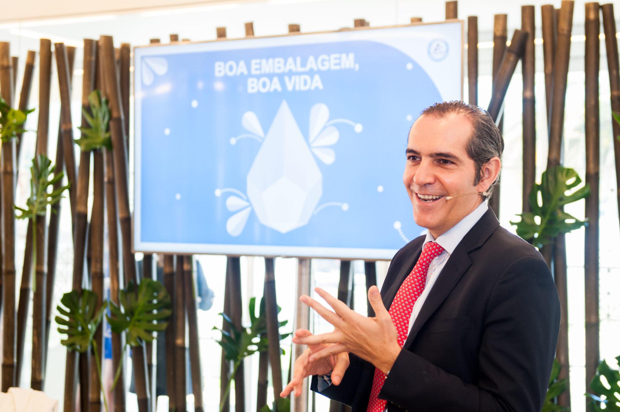 Alejandro Cabal, diretor-geral da Tetra Pak Ibéria