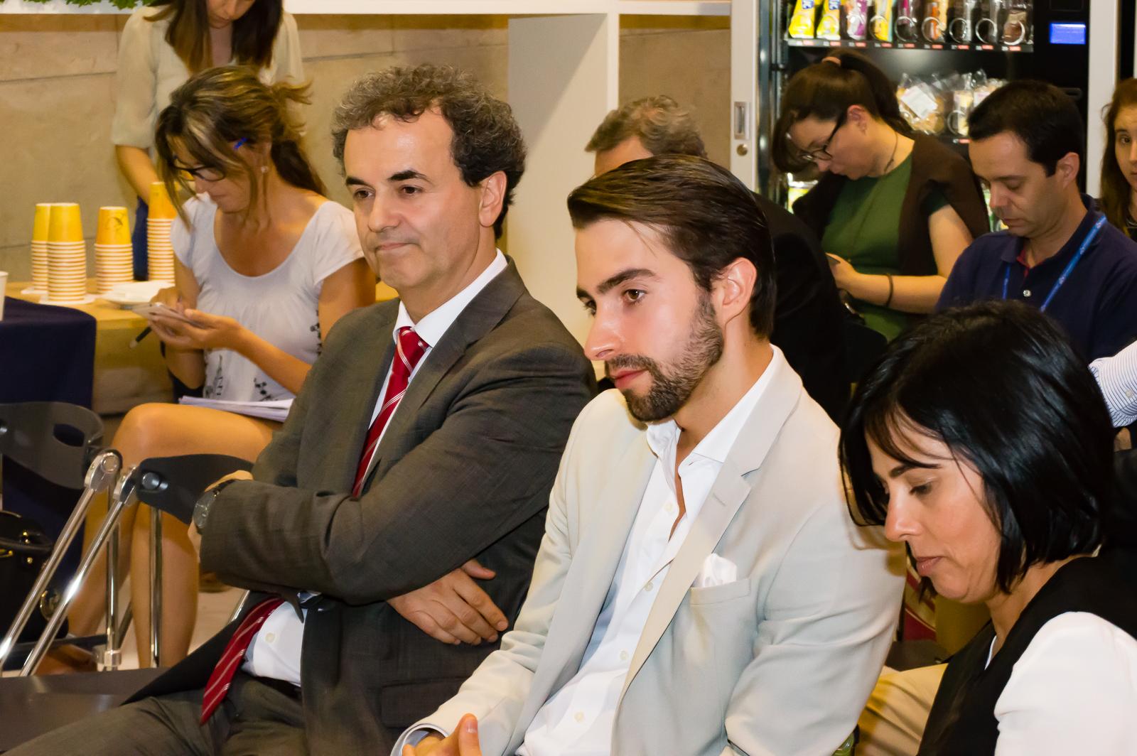 Fernando Araújo, secretário de Estado Adjunto e da Saúde (esquerda)