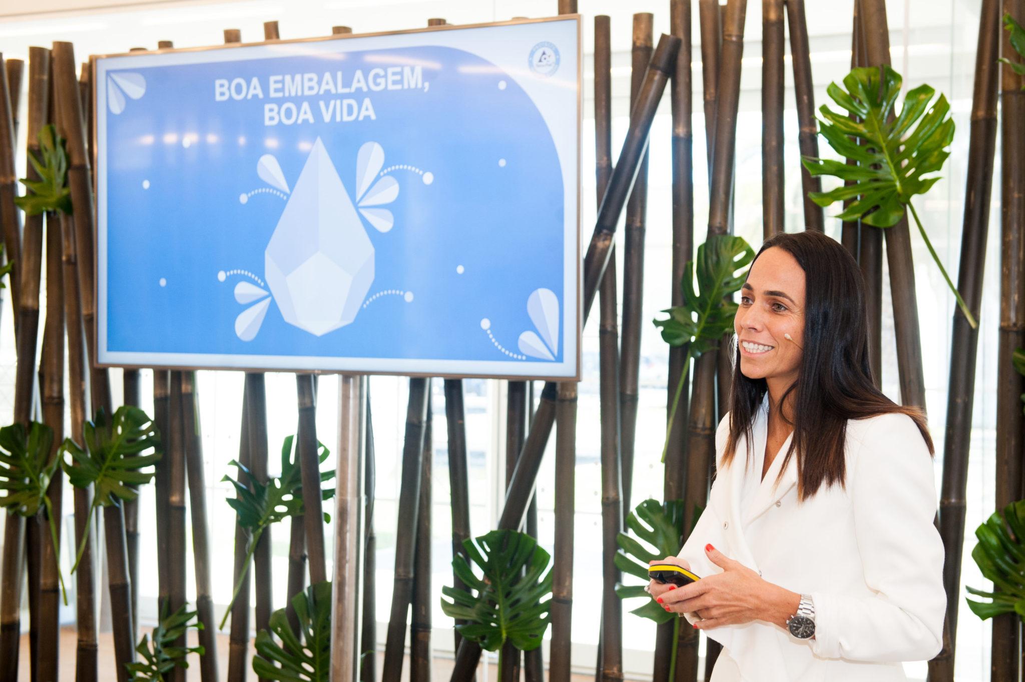 Ingrid Falcão, responsável da área de Ambiente da Tetra Pak Portugal