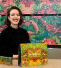 A portuguesa Mariana Rodrigues vive atualmente em Londres onde trabalha como ilustradora