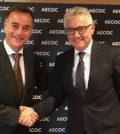 Antonio Valls, diretor-geral da Alimentaria Exhibitions, e José María Bonmatí, diretor-geral da AECOC