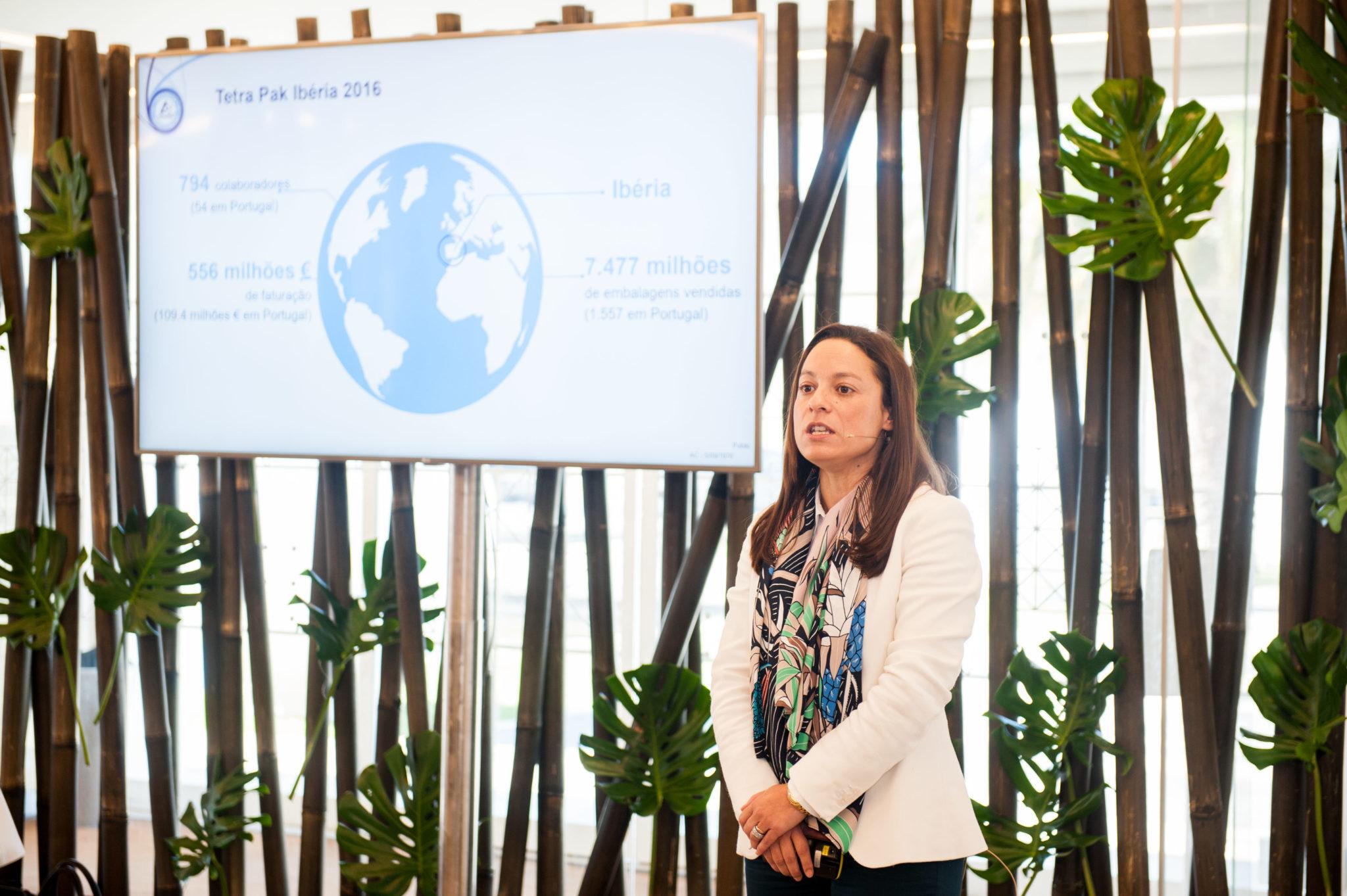 Vanessa Baldeante da Costa, diretora comercial e gestora de vendas da Tetra Pak Portugal