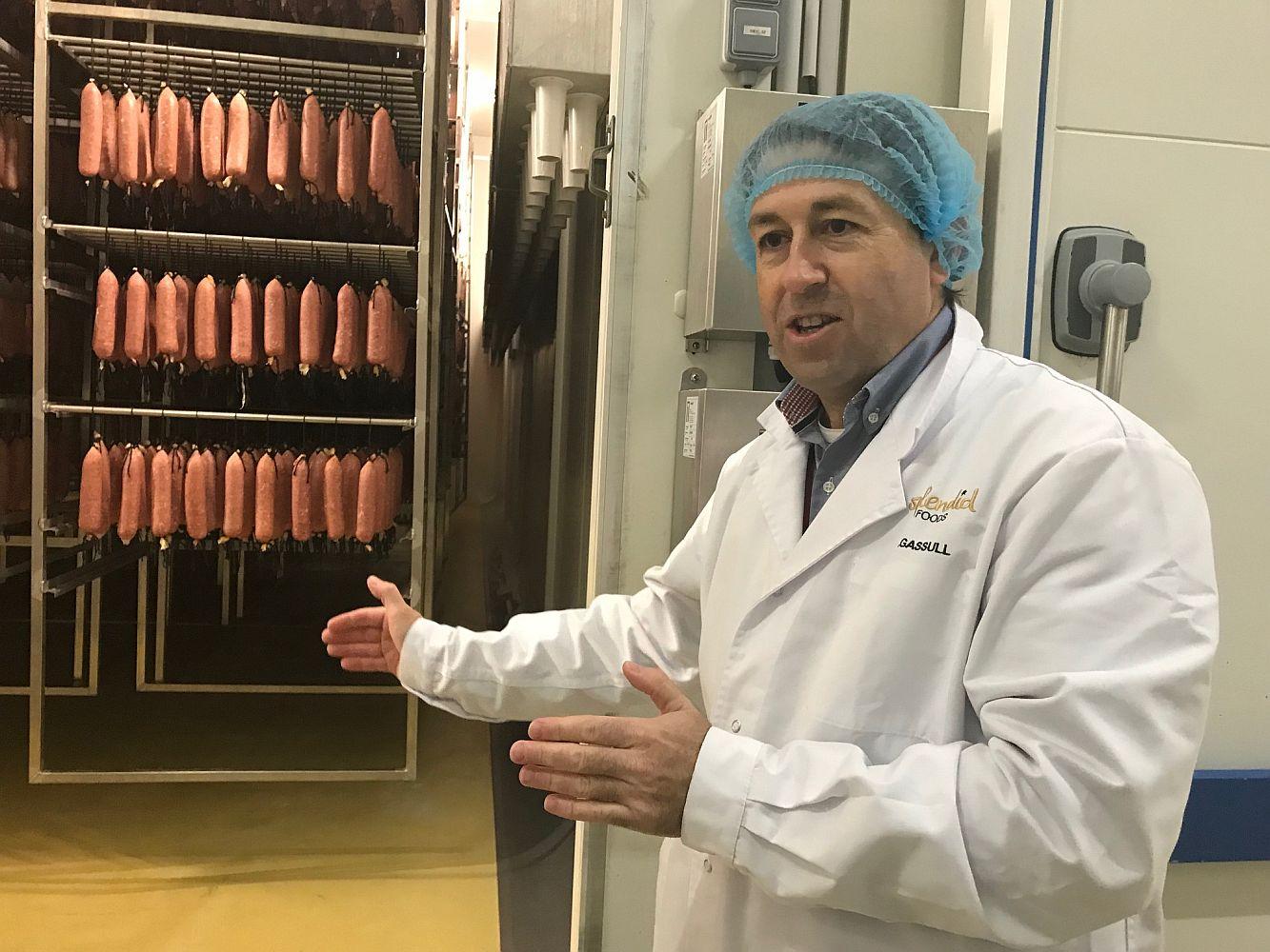 David García-Garsull, CEO da Splendid Foods