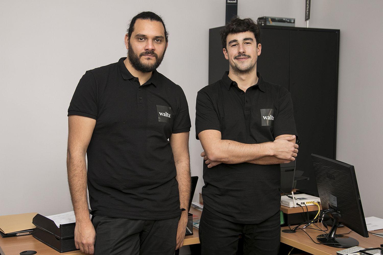 Fabio Cruz, fundador, e Filipe Miranda, responsável pela logística, respetivamente