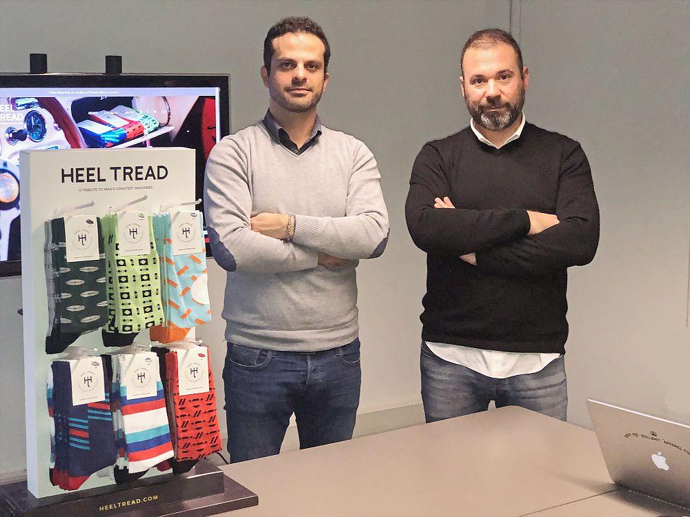 João Simões e Gonçalo Henriques, fundadores da Heel Tread