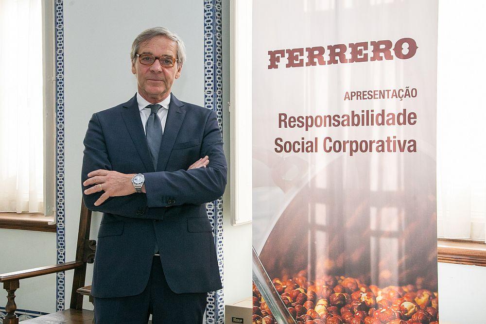 Roberto Torri, diretor de relações institucionais da Ferrero Ibérica