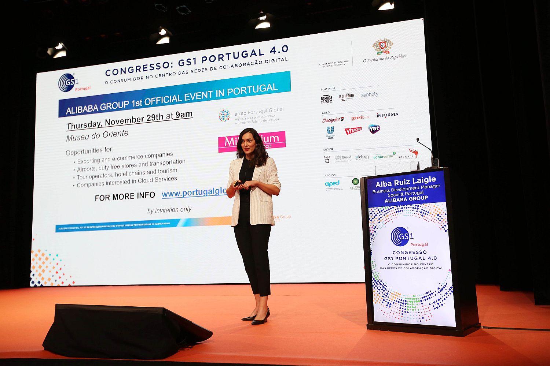 Alba Ruiz Laigle, business development manager do Alibaba Group em Espanha e Portugal