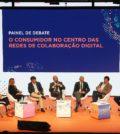 """Painel de debate, dedicado ao tema """"O consumidor no centro das redes de colaboração digital"""", no congresso da GS1 Portugal"""