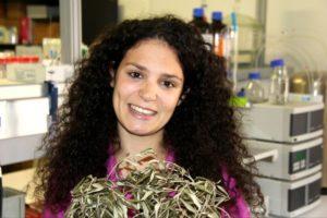 A investigadora Ana Cláudio