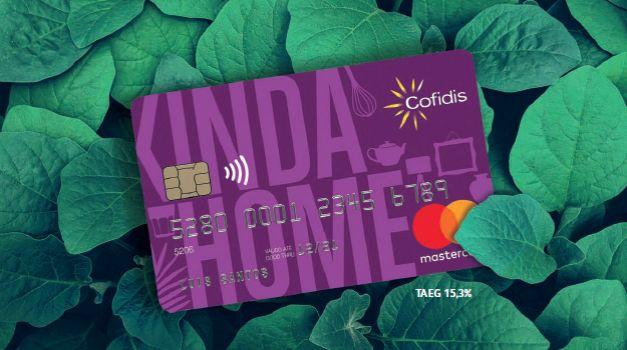 Cartão de crédito Cofidis Kinda Home