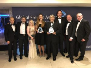 Global Freight Awards 2018 group picture (Maersk + Twill)