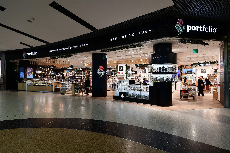 novo conceito de loja da portfolio made of portugal tem