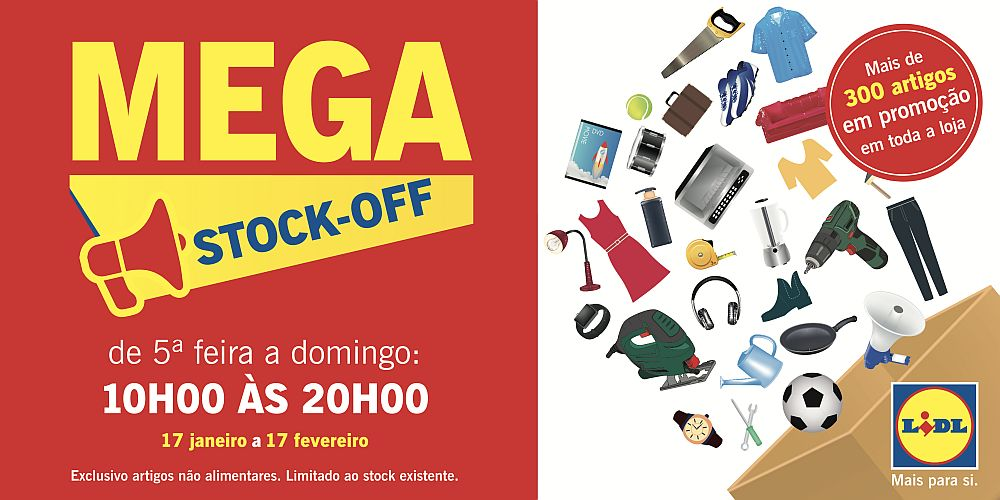 Mega Stock-Off Lidl