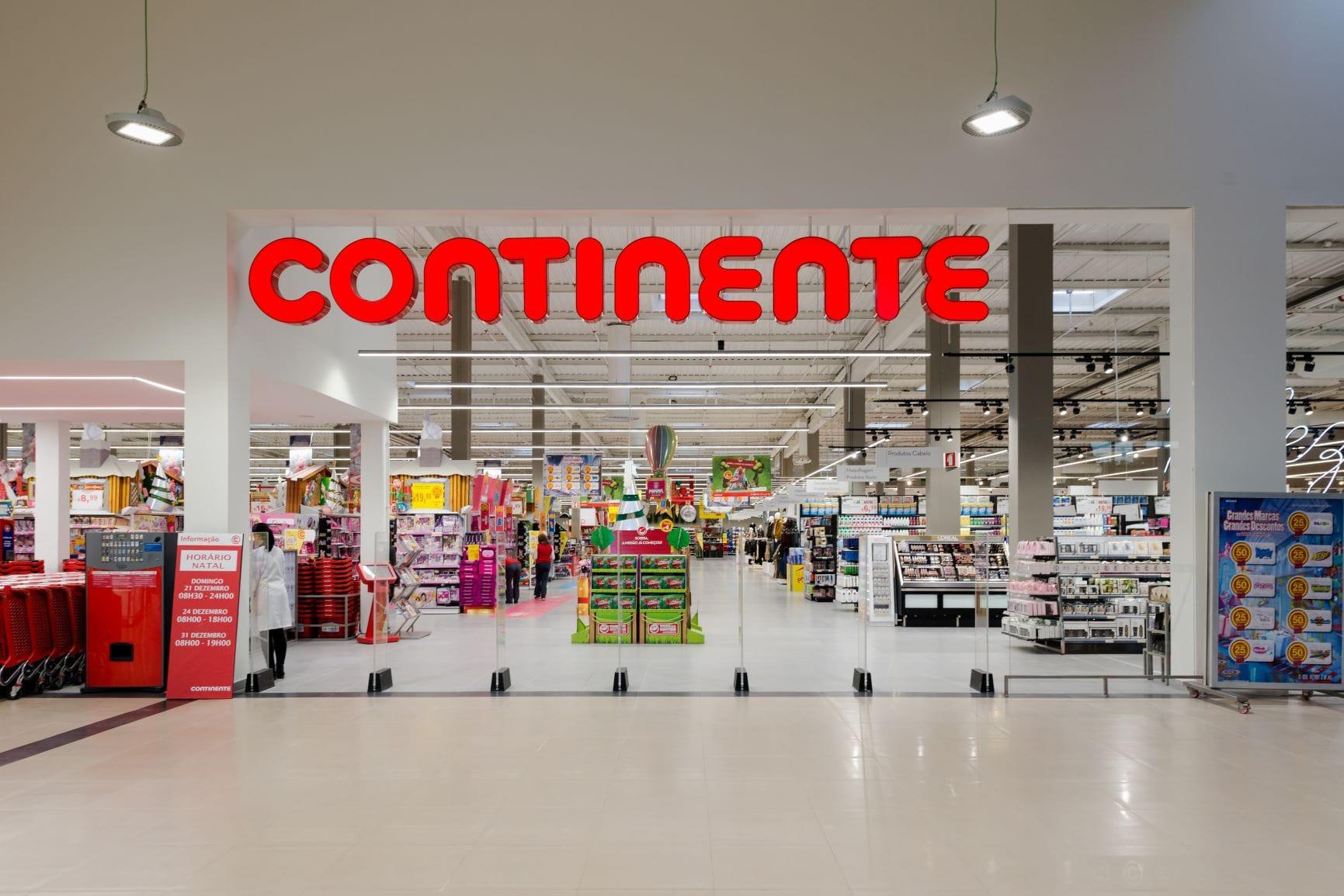 Continente_loja_