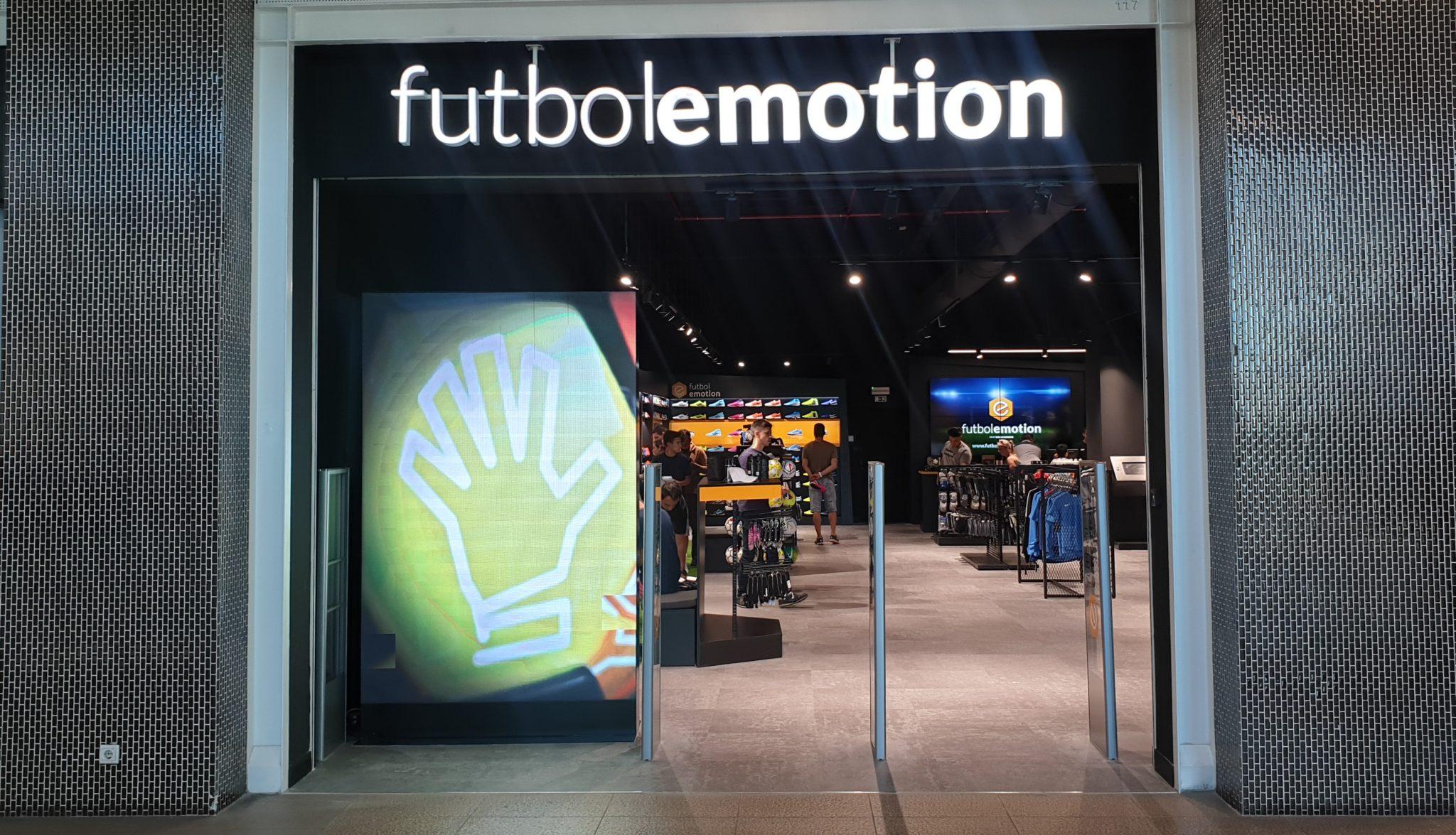 Oferta de emprego na Fútbol Emotion Loja de futebol Fútbol