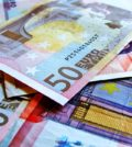 Used Notes Notes Euro Currency Finance Money 50