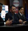 Sérgio Duarte, CEO da Quinas, a discursar durante o anúncio de parceria