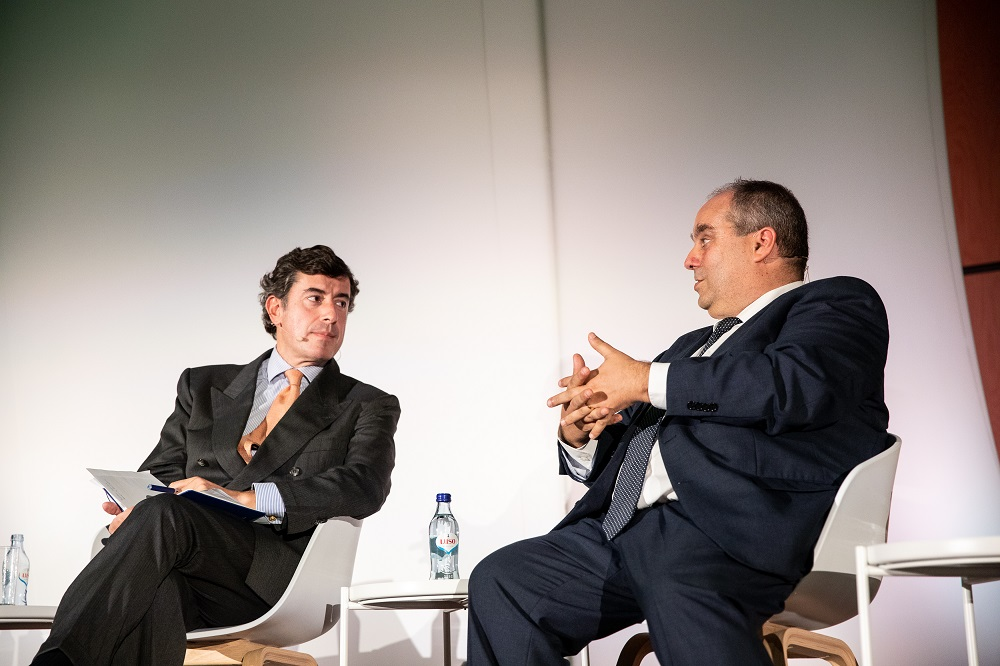 Gonçalo Lobo Xavier (APED) e Pedro Pimental (Centromarca)