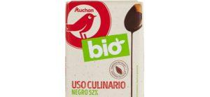 Choco Negro Auchan Bio Biológico Culinária 52% 200G_ 2,99€