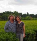 A alemã Nina Gruntkowski e o marido, o produtor de vinho duriense Dirk Niepoort