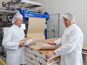 A grande aposta da empresa: papel deslizante para as linhas de embalamento da indústria alimentar