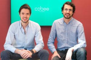 Borja Aranguren e Daniel Olea, fundadores da Cobee