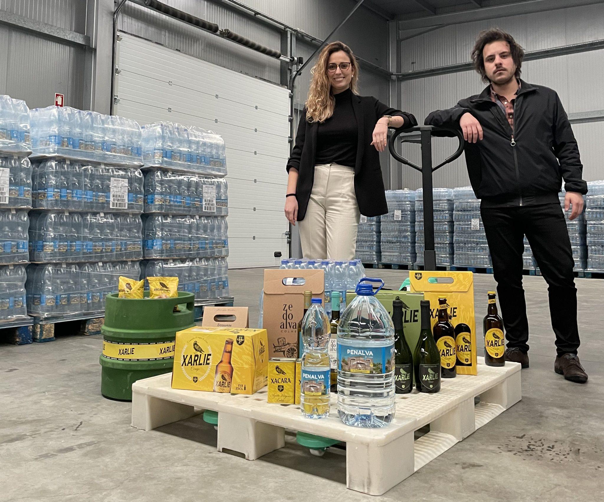 Jéssica Perestrelo (marketing) e Fábio Faustino (diretor), da Beam Park