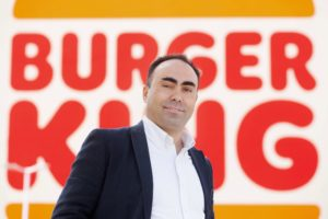 Jorge Carvalho, diretor-geral para Portugal e Espanha do Burger King