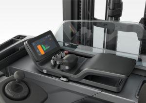 Toyota BT Reflex mini-levers controls
