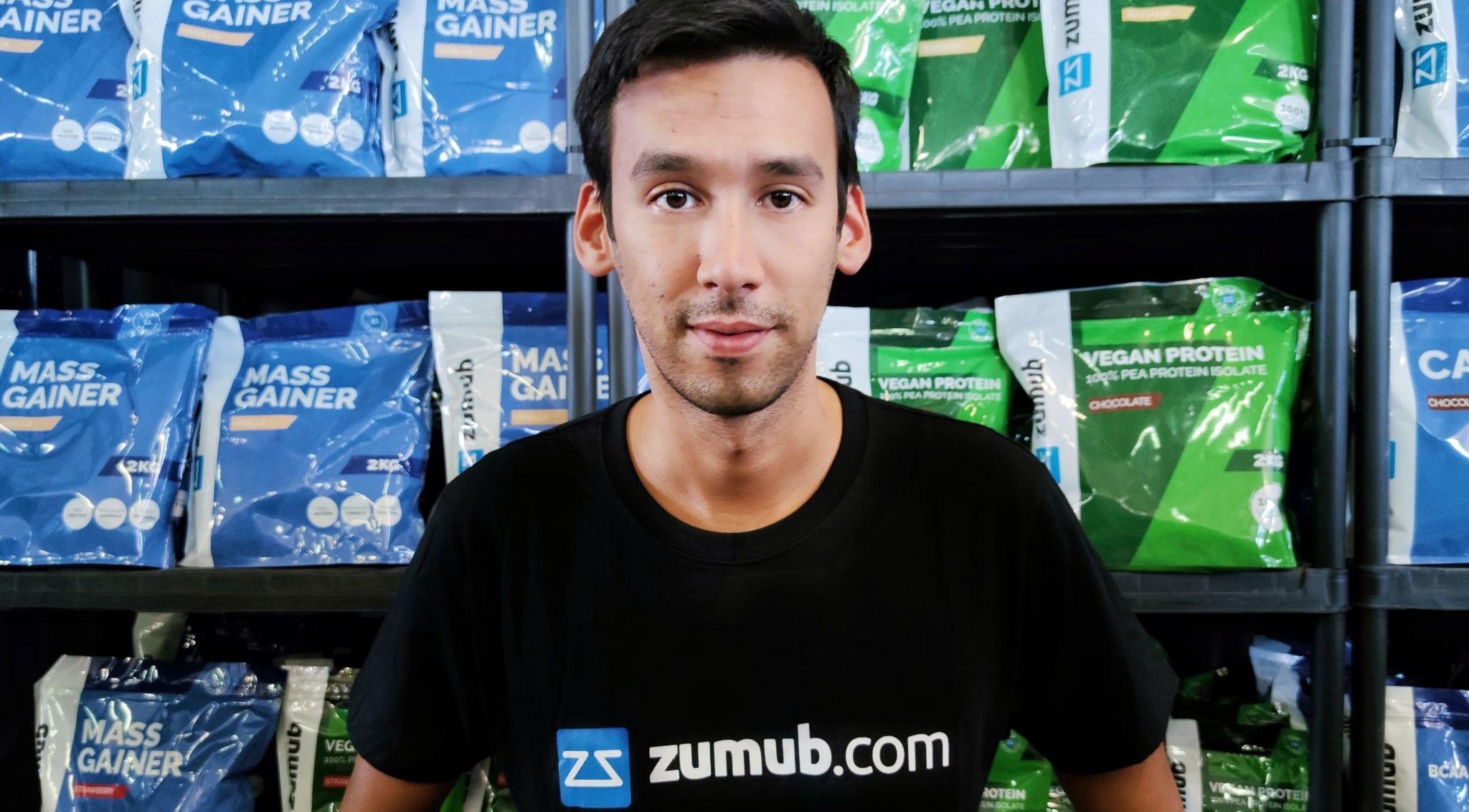 Urbano Veiga, CEO da Zumub