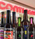 Cervejas ALMA e AMPHORA na rede Continente