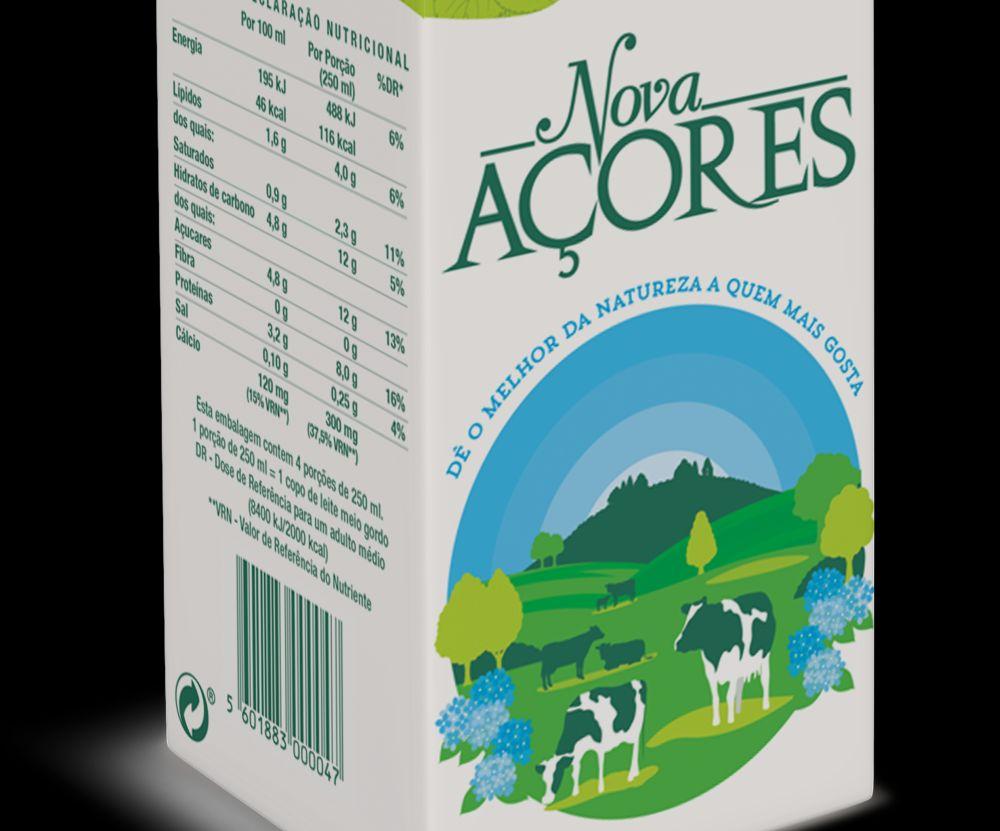 Nova Açores MGpack leite 1L