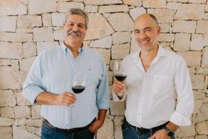 Paulo Laureano e Luís Vieira, CEO da Parras Wines