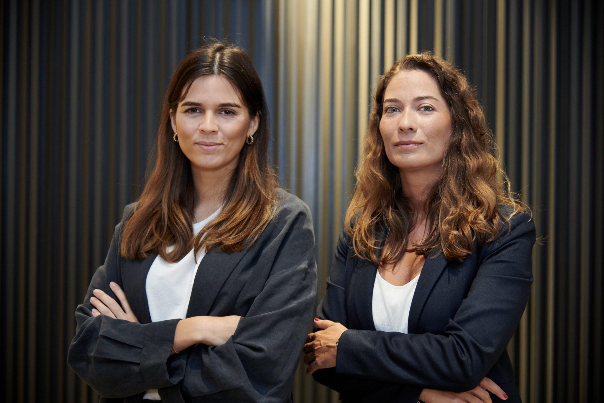 Joana Guedes (à esq.) e Patrícia Rodrigues